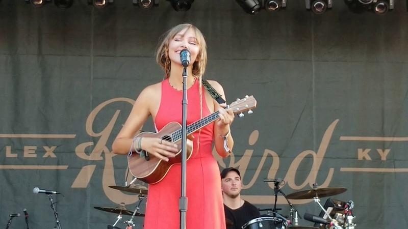 Grace VanderWaal | I Don't Know My Name | Railbird Festival | 8.10.19