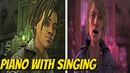 Louis Piano and Violet Singing Together - The Walking Dead: The Final Season: Episode 3