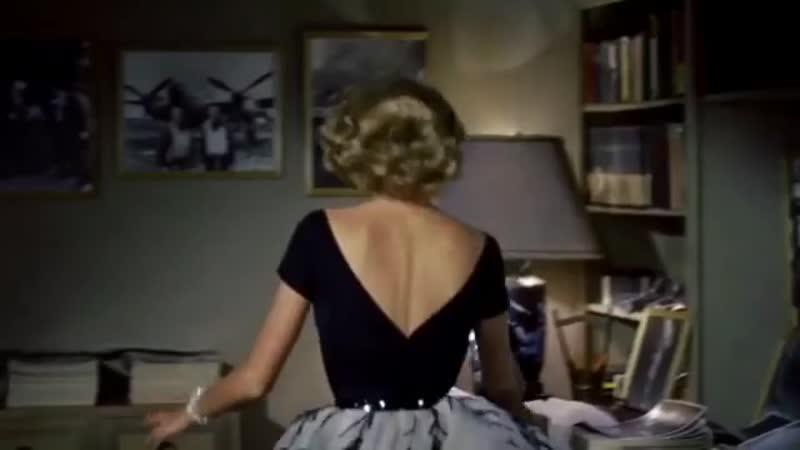 грейс келли grace kelly окно во двор rear window необычный и интересный детектив альфреда хичкока 1954 г