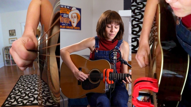 Molly Tuttle - White Freightliner Blues and Rhythm Lead Switching