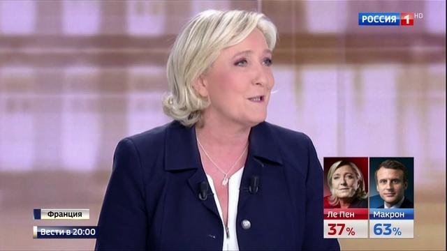 Вести в 20:00 • Мануэль Ле Пен: выборы для французов стали испытанием и разочарованием