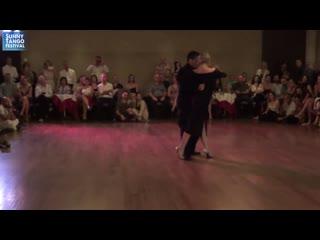 Carlitos Espinoza - Noelia Hurtado 2/5, June 2019, Sunny Tango Festival, Crete, Greece. Pugliese