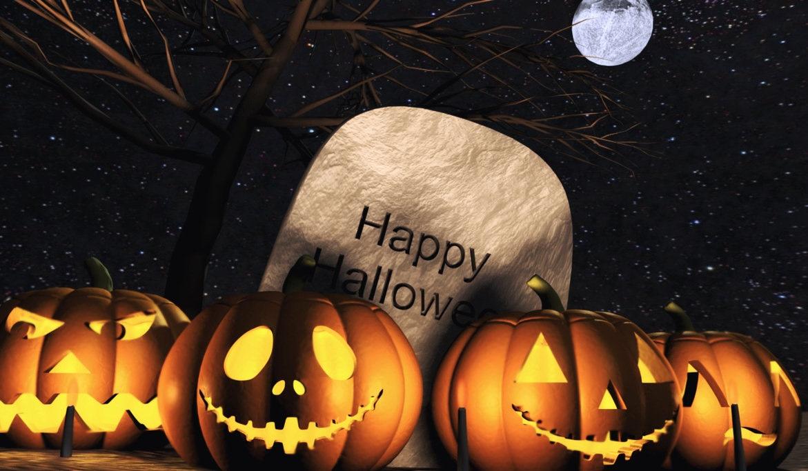 Картинка хэллоуин надпись
