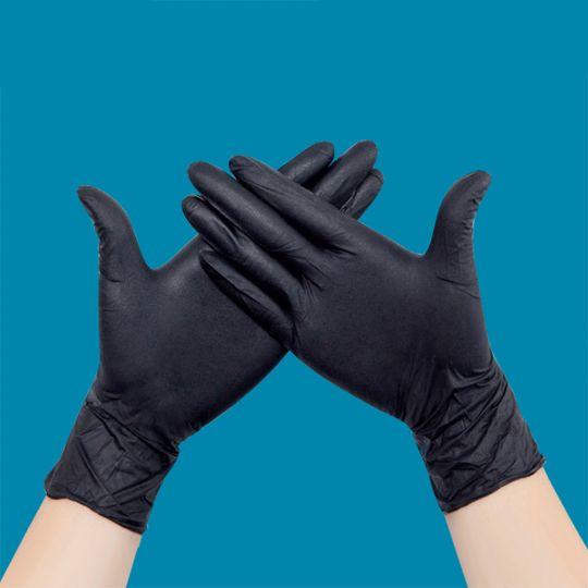 Что такое черные латексные перчатки?