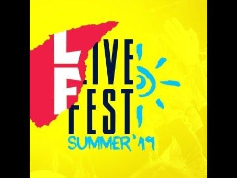 LiveFest Summer'19 фестиваль на Роза Хутор