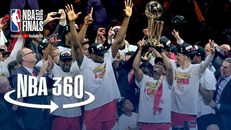 NBA 360 | Toronto Raptors Championship Celebration NBANews NBA Raptors