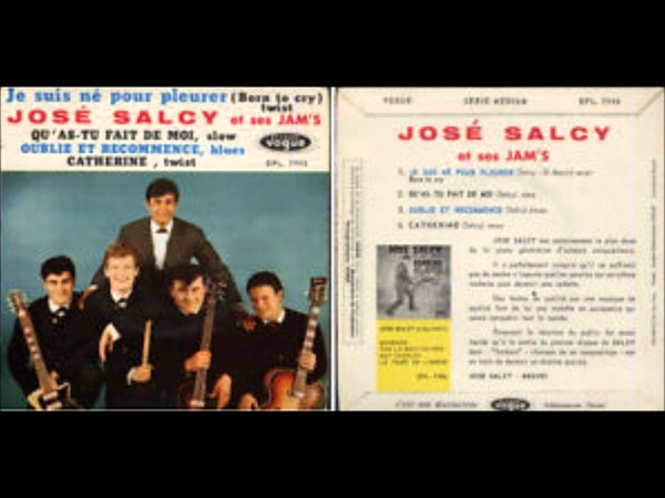 José salcy - je suis né pour pleurer