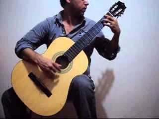 Niccolo Paganini MS 84 Guitar Sonata #3 C Major by Humberto Hernandez R.