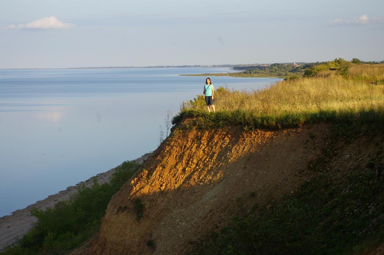 Последний день лета в Новгородской области. Красоты высоких берегов озера Ильмень