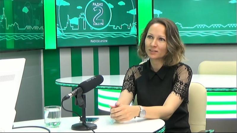 Гость на Радио 2 Ирина Шеломенцева председатель правления ХКОО Маяк надежды