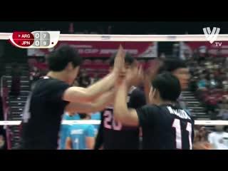 Crazy volleyball skills world cup 2019 skill mix #1 hd