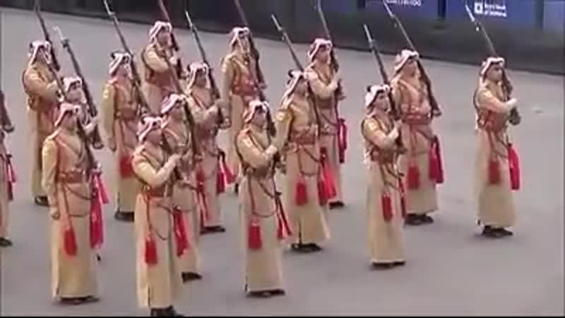 Royal Jordanian Honor Guard Silent Drill