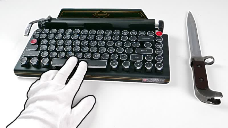 [TheRelaxingEnd] $900 Resident Evil 2 Premium Edition TYPEWRITER Unboxing (SOLD OUT) Biohazard 2 RE2 Z Version