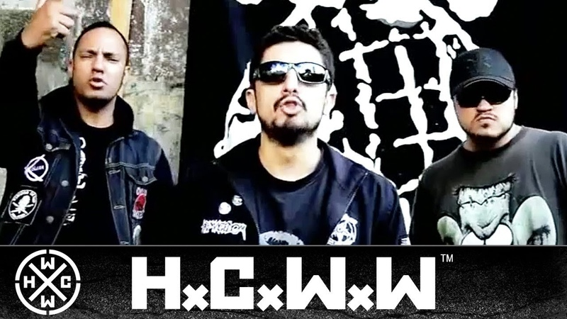 ODIO SOCIAL NAO PASSARAO HARDCORE WORLDWIDE OFFICIAL D I Y VERSION HCWW