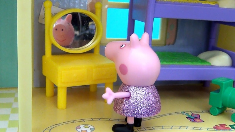 Свинка Пеппа Куда пропала корона Пеппы История о новом платье и потере короны Свинки Пеппы