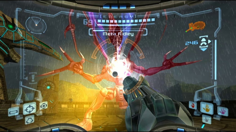 Metroid Prime - Meta Ridley [GC, NTSC 1.00, Widescreen HUD Mod]