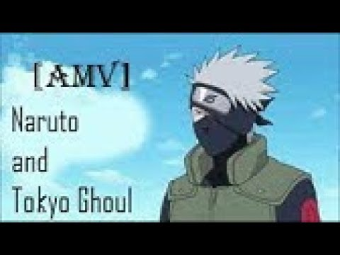 [AMV]Tokyo ghoul opening in Russian in Naruto