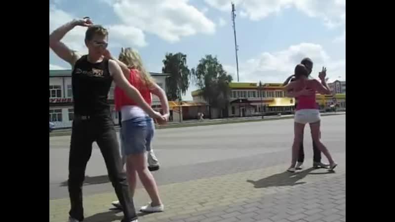Drej in social dancing in Brest 2011-2012 of the year