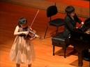 Soo-Been Lee - Wieniawski - Variations on an Original Theme Op 15