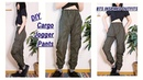DIY Cargo Jogger Pants BTS Inspired Outfits MEN'S CLOTHES ファッション 옷만들기 COSTURAㅣmadebyaya