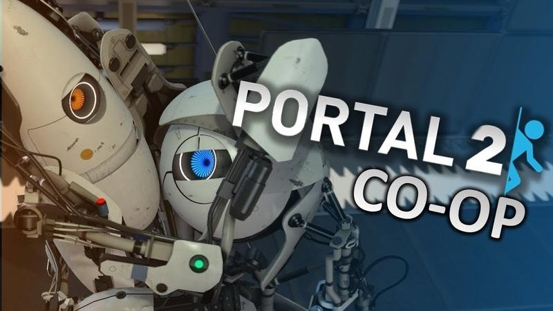 Portal 2 в коопе с Valeriyanka