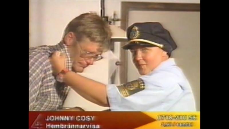Johnny Cosy - Hembrännarvisan (Video TV4)