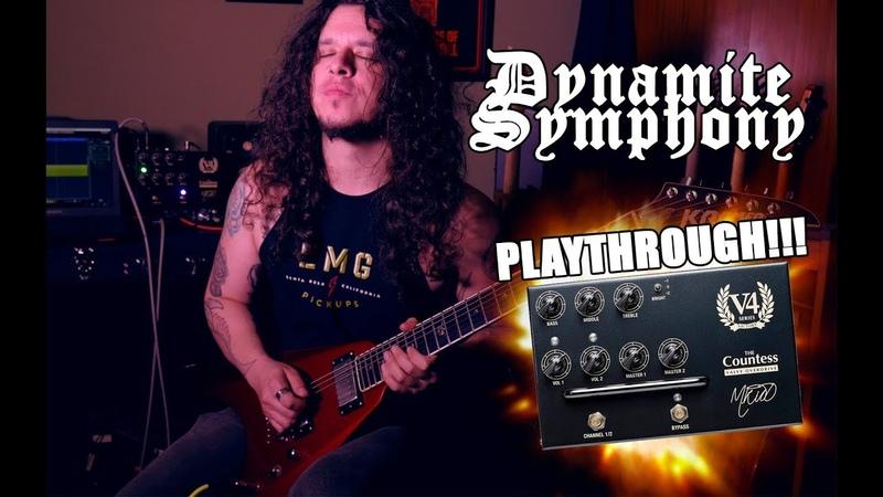Dynamite Symphony melodic metal guitar Playthrough