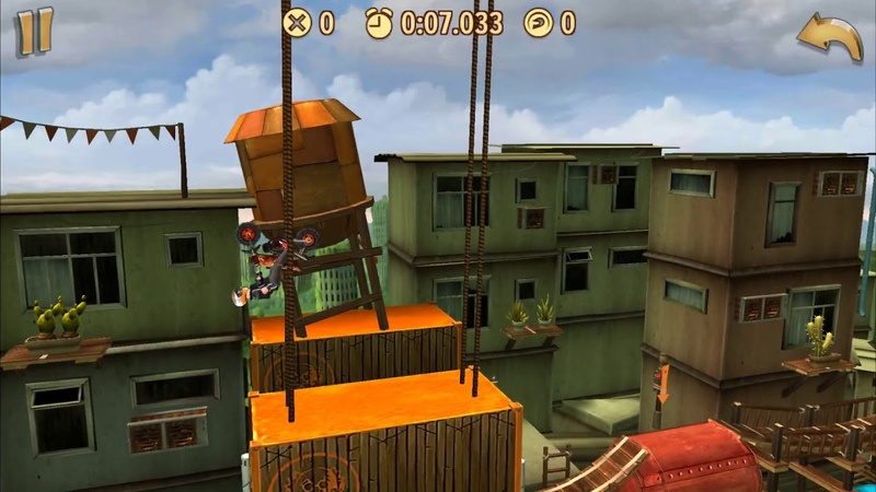 Trials Frontier WRs - City Chaos / Donkey (17.075) by AurisTFG (Android)