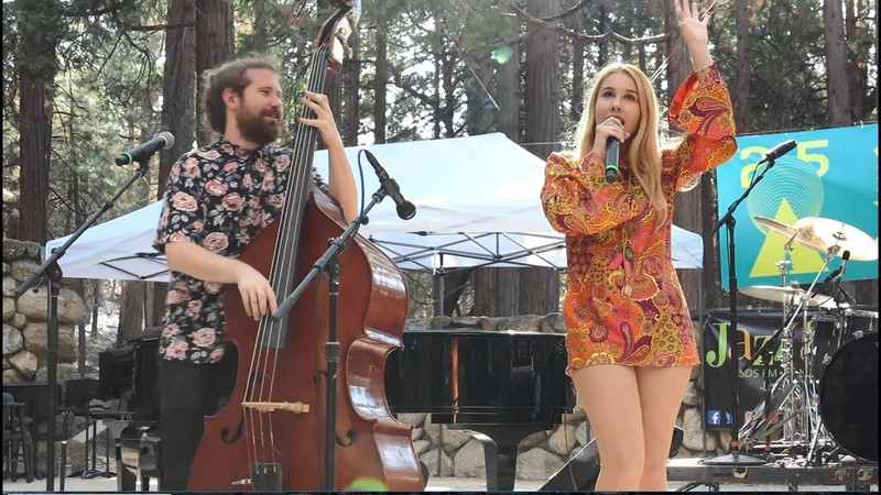 Haley Reinhart Casey Abrams Time of the Season Idyllwild Arts JazzInThePines 2018