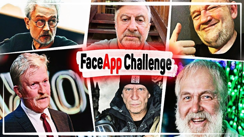 Как Бы Выглядели Блогеры В Старости ? ФейАПП Челлендж/FaceApp Challenge | CrazZzy CaT