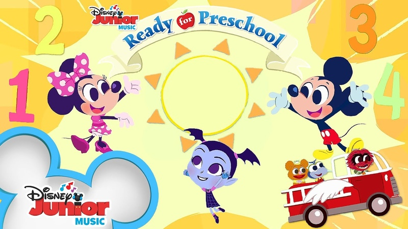 Learn Numbers Shapes Colors and more Compilation Ready for Preschool Disney Junior