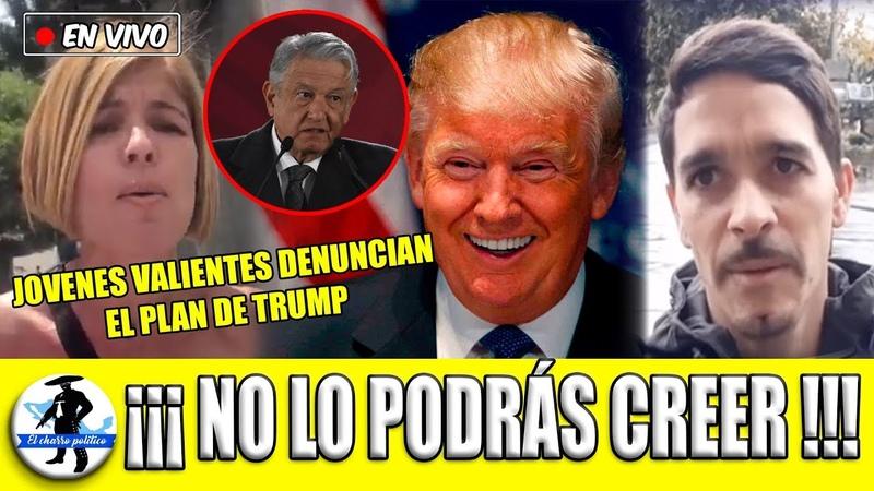 Jóvenes B*livian*s Valientes Revelan Video Que Trump No Quiere Q Veas ¡Mandan Mensaje De Alerta!