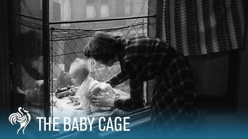 The Baby Cage A Penthouse for a Baby British Pathé