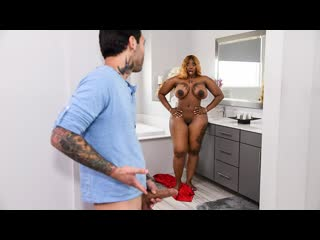 Victoria cakes fucked out of house & home part 2 (big ass, big tits, blonde, blowjob, ebony)