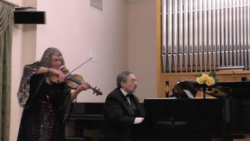 Композитор Мамед Гусейнов. Фантазия на японские темы «Аромат цветущей сакуры» (Violin Piano)