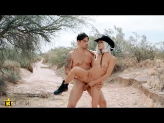 Emma hix - overwatchers ashe smashed [all sex, blonde, outdoor, petite, blowjob, cowgirl]