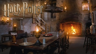 Leaky Cauldron [ASMR] Inn Room Harry Potter Ambience [Study Relax] Cinemagraph