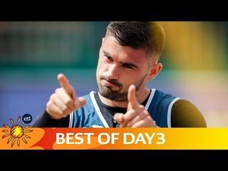 Top 5 Actions   Day 3   Beach Handball EURO 2019