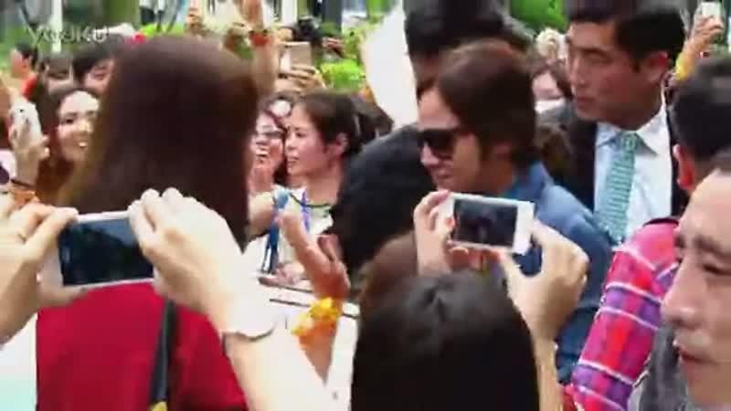 2013.09.06 張根碩抵達深圳寶安機場 高清