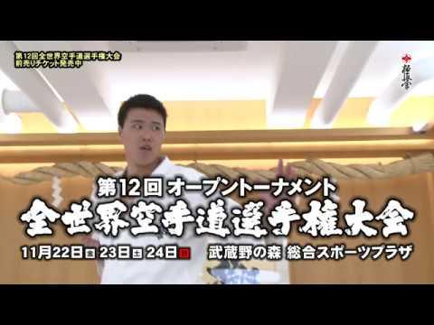 極真 第12回全世界大会プロモーション 上田幹雄
