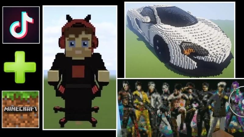 Nhưng video tik tok cực độc đáo về game Minecraft phần 22