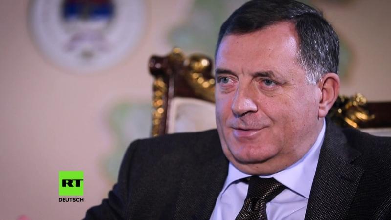 Vertreter der Serben in Bosnien Westen versucht uns, NATO-Mitgliedschaft aufzuzwingen