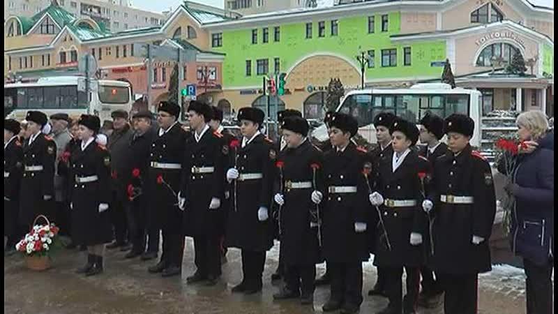Митинг посвященный 76 ой годовщине снятии блокады Ленинграда