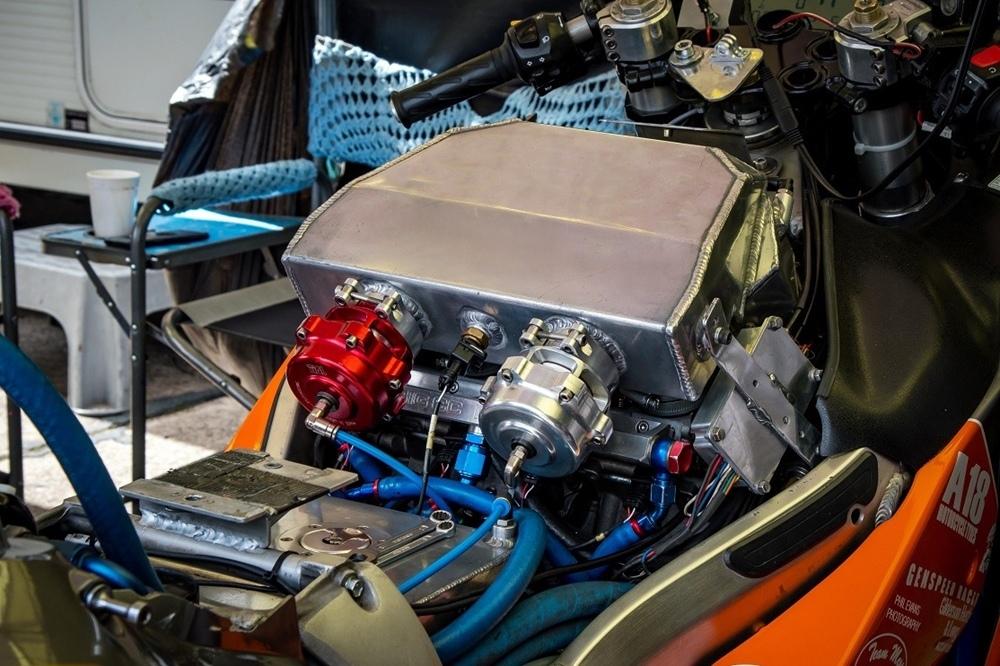 650-сильный Suzuki Hayabusa выставили на продажу
