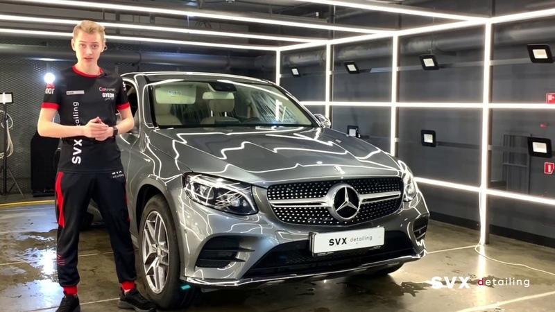 В SVX detailing на химчистке салона Mercedes GLC Coupe