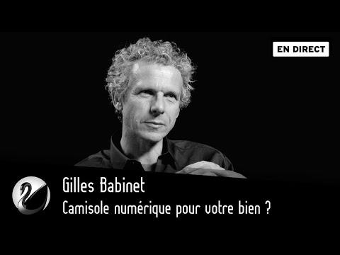 Camisole numérique pour votre bien Gilles Babinet [EN DIRECT]