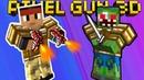 КВАДРАТНЫЙ Counter Strike видео про сражение Майнкрафт героев в онлайн игре Pixel Gun 3D