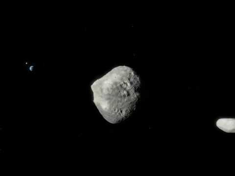 Artist's Impression of Asteroid 1999 KW4 4K UHD