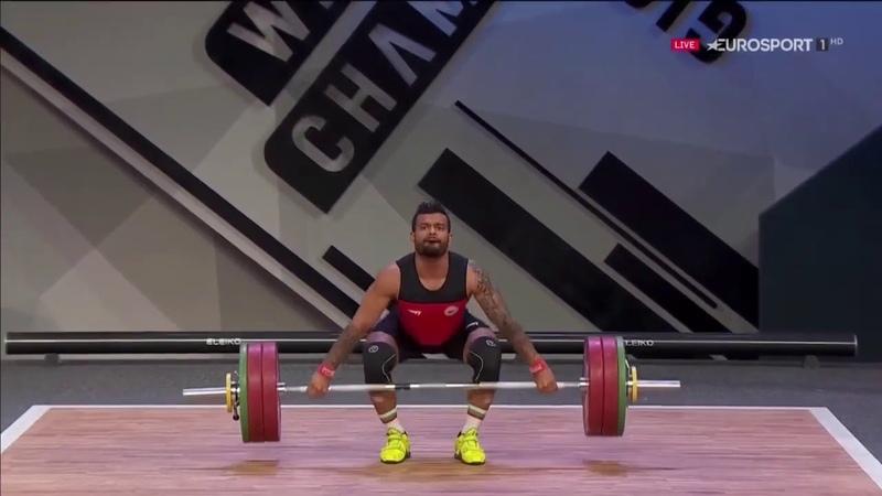 Bozhidar Andreev 73 kg Snatch 148 kg 2019 European Weightlifting Championships