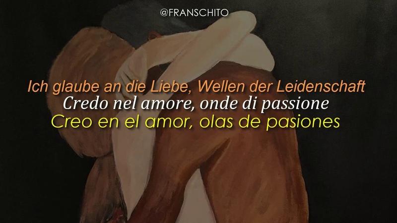 Pietro Basile feat. SARAH – Ich liebe nur dich (Lyrics Sub Español)